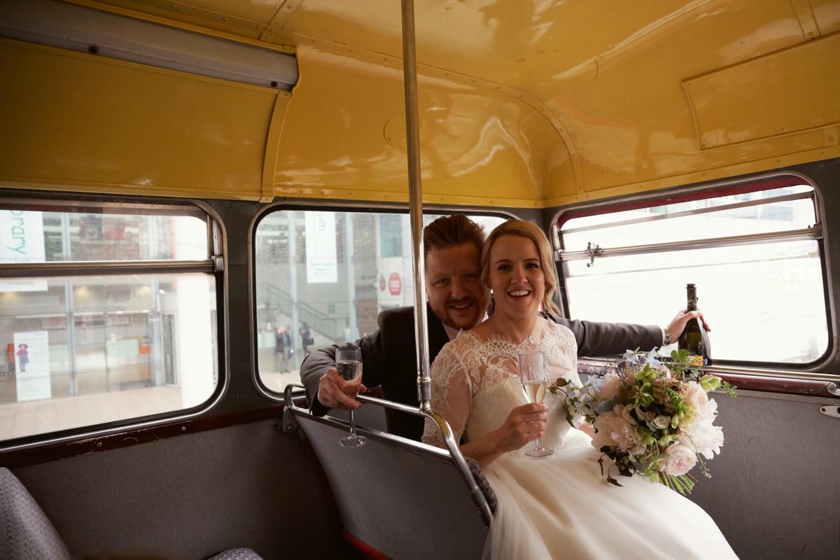 wedding bride Milton Keynes London UK photographer natural light relax smile happy bride destination hackney jun tan photography location malmaison juntanphoto@gmail.com london bus engagement bohemian trendy hipster