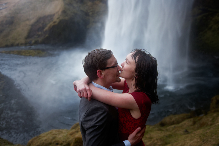 icelandic engagement photo shoot jun tan in iceland