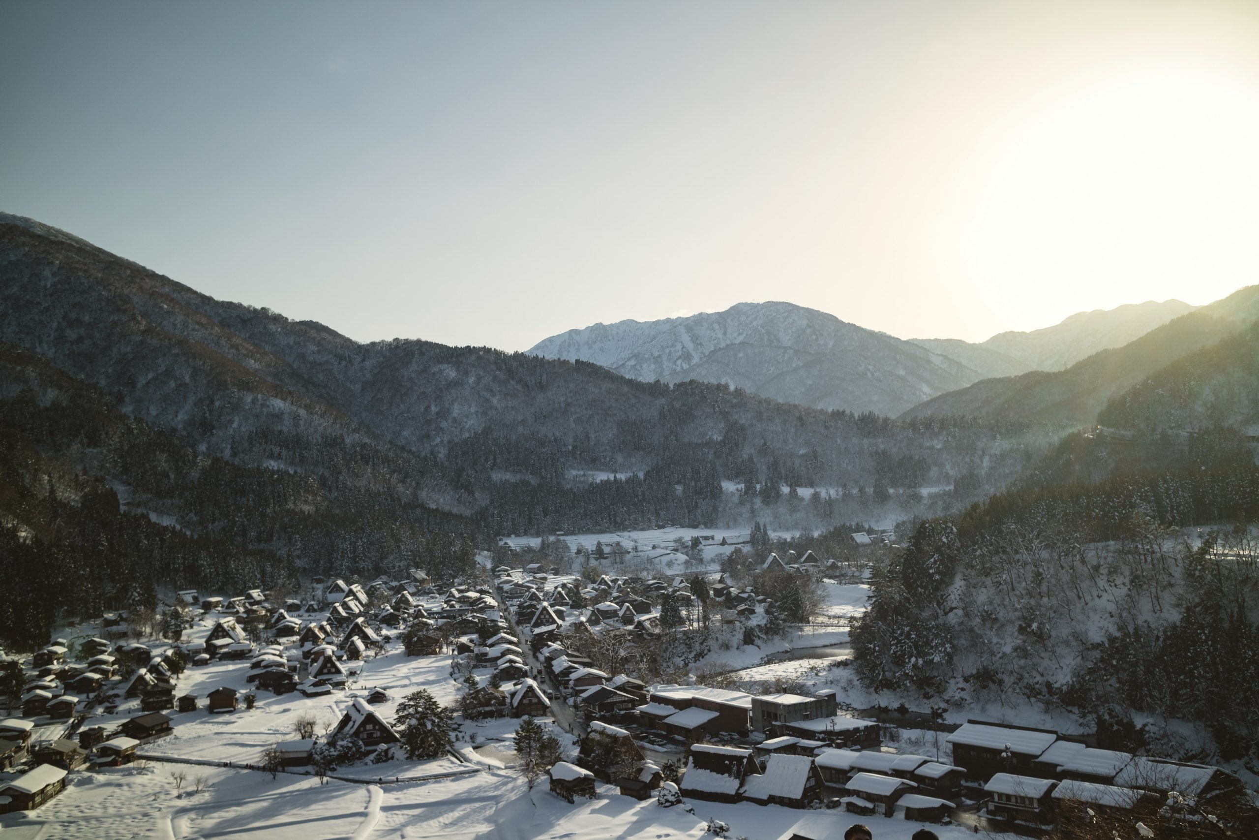 shirakawa gokayama magical winter japan